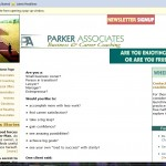 2005 asparker.com website