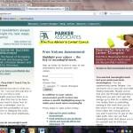 Current website asparker.com