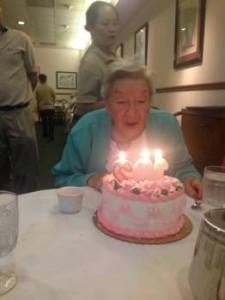 smaller Mom at 102